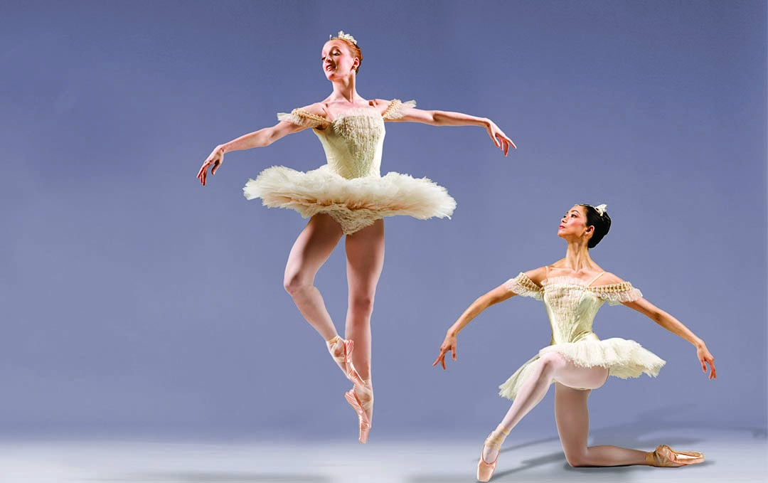 American Ballet Theatre, Symphonie Concertante, photo by Joe McNally