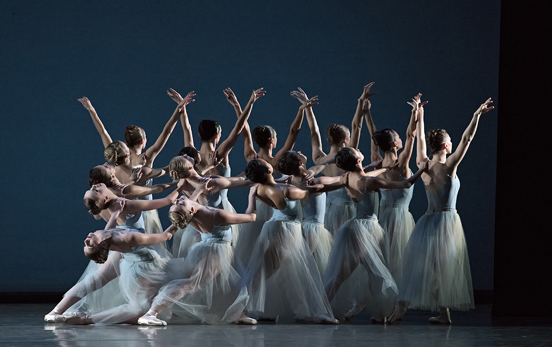 Miami City Ballet, Serenade, photo by Gene Schiavone