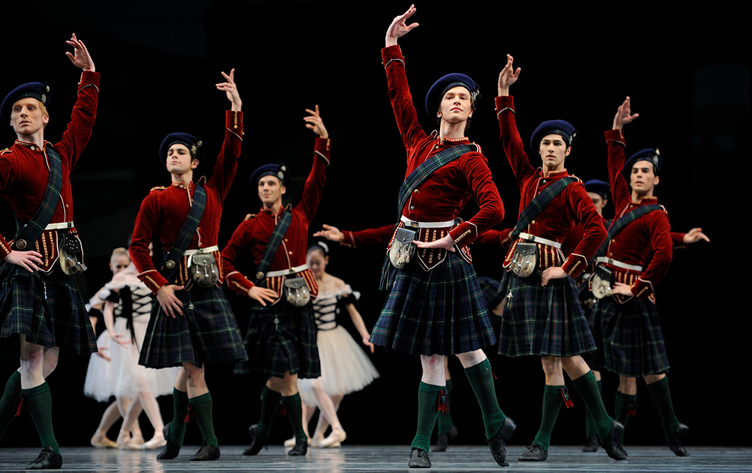 San Francisco Ballet, Scotch Symphony, photo by Erik Tomasson
