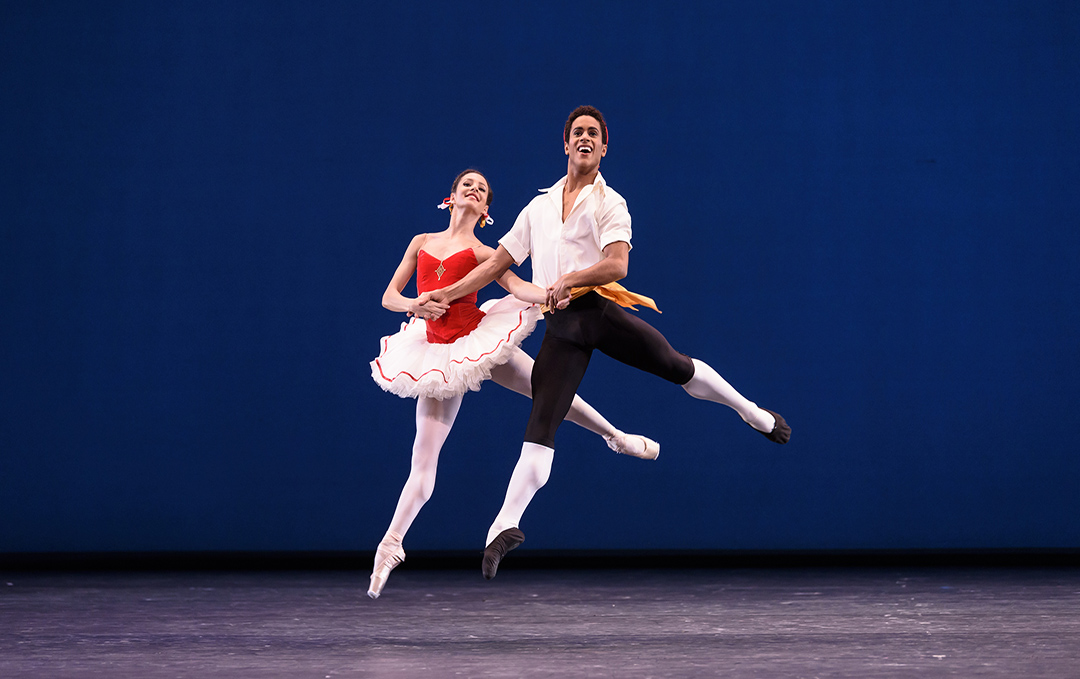 The Royal Ballet, Tarantella, photo by Bill Cooper