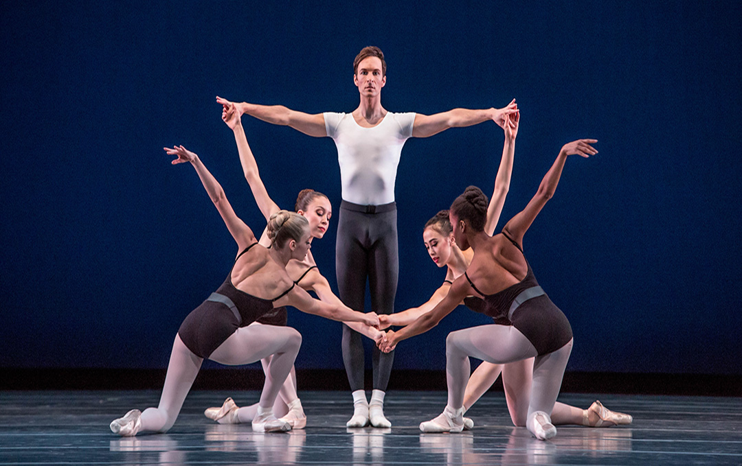 The Joffrey Ballet, The Four Temperaments, photo by Cheryl Mann