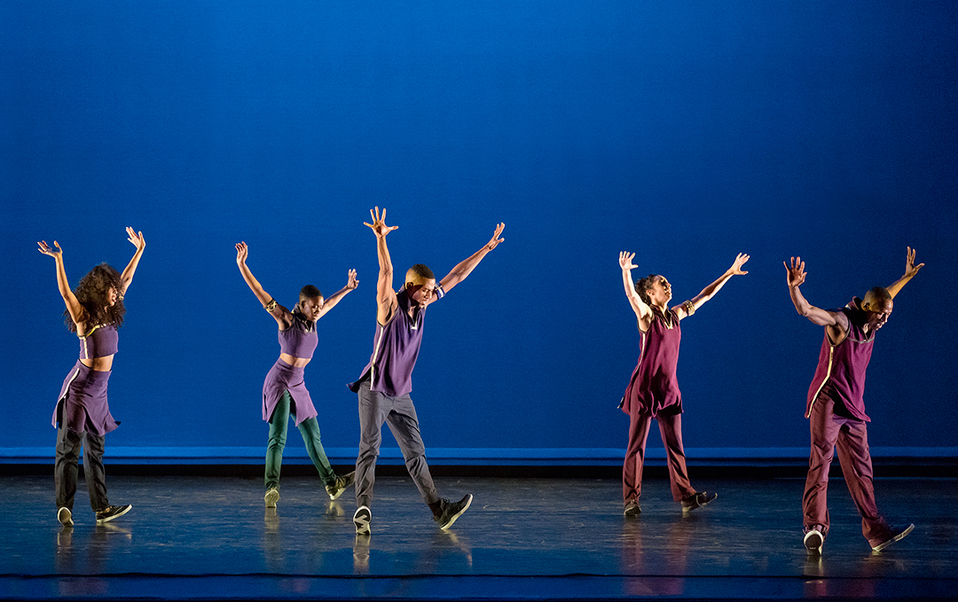 Alvin Ailey American Dance Theater in Rennie Harris' Lazarus. Photo by Paul Kolnik