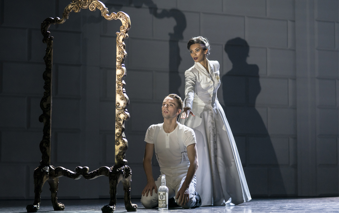 The Prince and The Queen; Photo by Johan Persson