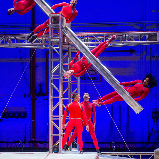 STREB Extreme Action (2016); photo by Stephanie Berger