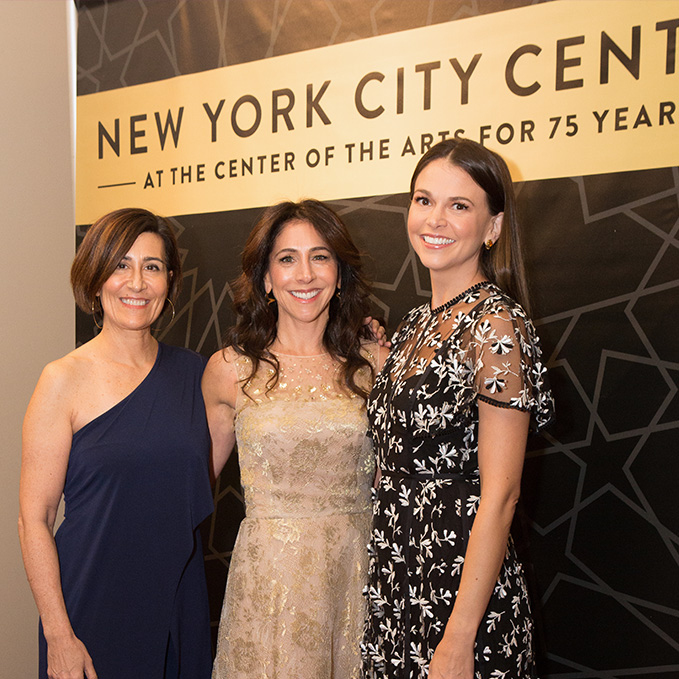 Jeanine Tesori, Stacy Bash-Polly, and Sutton Foster; photo by Susan Strava