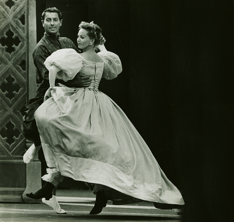 Farley Granger in King and I