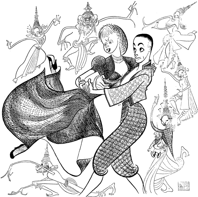 Hirschfeld Drawing